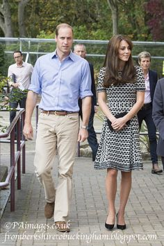 From Berkshire to Buckingham : Kate Recycles Tory Burch for World Mental Health Day at Mind in Harrow