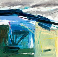 Peter Iden Artist: February on the Downs 2009 Estate of Peter Iden Summer Landscape, Abstract Landscape, Landscape Paintings, Landscapes, Abstract Images, Abstract Art, 2d Art, Oil Paintings, Watercolor