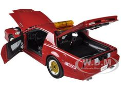 1987 Pontiac Firebird Trans Am GTA Talladega 500 Pace Car Nascar 1/18 Diecast Model Car Greenlight GL12859