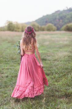 bohemian bridesmaid