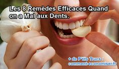 remèdes rages de dents