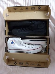 Chuck Taylor All-Star (aka Converse): make a statement with all black or squeaky-clean white. A comfy classic for dancing all day (and night) long!