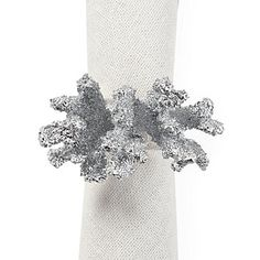 Complement your #NYE table setting with these finely-crafted and brilliantly-colored faux coral napkin rings.