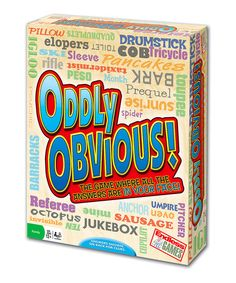 Oddly Obvious Game #zulily #zulilyfinds