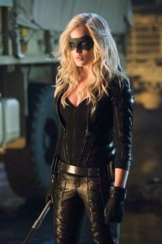 Arrow Caity Lotz-  While I haven't been able to bring myself to ship Oliver & Sarah, I have loved her as Black Canary.  She kicked ass in a seriously awesome way.