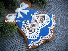 Gingerbread bell. Christmas  cookies.