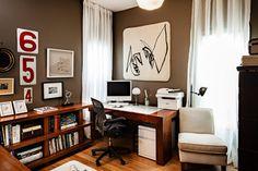 Victorian Resurrection - transitional - Home Office - Portland - Vicki Simon Interior Design