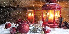 Weihnachtskarten 2015 für Firmen - Rote Impressionen - Artikel 11159 - Weihnachtslaterne