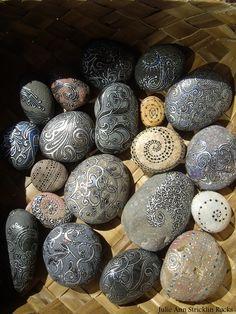 Julie Ann Stricklin- Rock Art