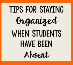 Student absences occur on a regular basis throughout the school year, but it can be so difficult to keep those students (a...