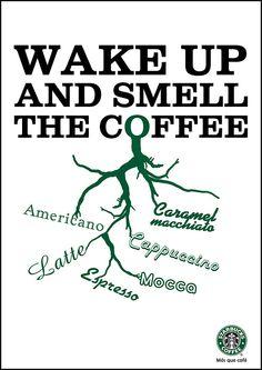 Wake Up And Smell The Coffee Starbucks #starbucks, #pinsland, #coffee, https://apps.facebook.com/yangutu