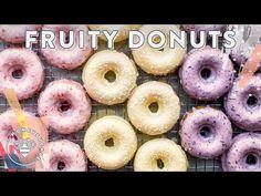 3 Amazing Fruity Baked Donut Recipes -