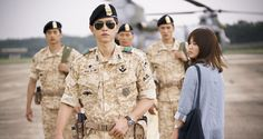 Descendants of the Sun: Song Joong Ki, Song Hye Kyo Romance Again? - http://www.australianetworknews.com/descendants-sun-song-joong-ki-song-hye-kyo-romance/