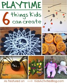 Do you love to create with your kids?  Here are simple fall crafts that kids can create... and hundreds of other activity ideas!