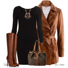 Leather Trench Coat 2, created by sonies-world on Polyvore