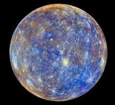 """Apparently this is """"The clearest photo of Mercury ever taken.""""  why isnt everyone getting so excited about t..."""