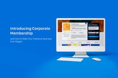You have the power to grow your freelance business to its full potential. Put the spotlight on your business and take your earnings to the next level with the new Corporate Membership. Make It Yourself, Business, How To Make, Blog, Blogging, Store, Business Illustration