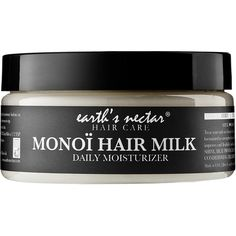 Earth's Nectar Monoï Hair Milk (180 SEK) ❤ liked on Polyvore featuring beauty products, haircare, beauty, fillers, makeup, cosmetics, hair and curly hair care