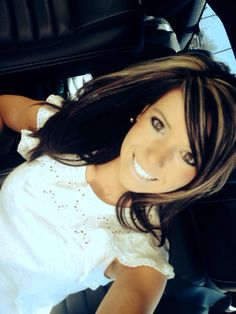 Dark brown with blonde hmm this might be cute!