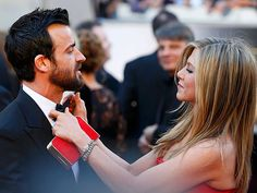 "12 Times Jennifer Aniston and Justin Theroux Couldn't Stop Gushing About Each Other | WHEN SHE SHUT DOWN SPECULATION OVER WHEN THEY WOULD GET MARRIED | ""You know, we already feel married.""– July 2013"