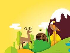 Oh_deer in Illustration