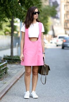 How to Wear a Crop Top Like a Street Style Star—30 Chic Outfits to Copy Now @stylecaster