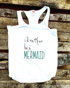 Mermaid tank by TheChicFarmBoutique on Etsy  Stop by my Etsy Shop: www.etsy.com/shop/TeoldDesign