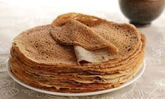 Light buckwheat pancakes - Light recipes - Main course and Recipe - Weight Watchers light buckwheat pancakes, delicious buckwheat flour pancakes, ideal for all your sa - Crepes And Waffles, Buckwheat Pancakes, Gourmet Recipes, Dessert Recipes, Cooking Recipes, Desserts, Healthy Recipes, Sin Gluten, Crepe Recipes