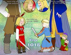 The first sight by Janemin on DeviantArt Ukraine Hetalia, Hetalia Russia, Fangirl Problems, Hetalia Fanart, Funny Character, Distinguish Between, History Memes, Axis Powers, Chibi