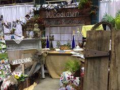 Woodlawn Plantation and Gardens at Georgia Bridal Show in Savannah 2-23-14