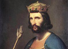 """Saint Louis IX, king of France in Anjou"""