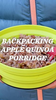 Dehydrated Backpacking Meals, Best Camping Meals, Dehydrated Food, Best Backpacking Food, Camping Menu, Camping Foods, Ultralight Backpacking, Camping Checklist, Quinoa Porridge