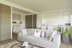 Clean White Interior