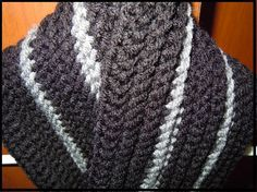 Looking for your next project? You're going to love Crochet a Man's Scarf Pattern by designer Craftdrawer.
