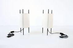 Isamu Nogushi cylinder model lamp Knoll edition  http://www.galerie44.com/fr/collection/luminaires/lampe-isamu-nogushi-detail