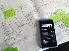 """I created the UX for ESPN's new flagship app shipping exclusively with the new Nokia Lumia 900 and 920 Windows 8 phones. Client was looking for out-of-the-box ideas and way to unify their various current apps very limited timeframe worked with beta SDK; Windows ""Metro"" visual guidelines were not final or published at the time. Added complexity came from the requirement that IA had to on the fly reflect the global scenario of locale-based emphasis on specific sports."" - Carolyn Farino  Tag…"