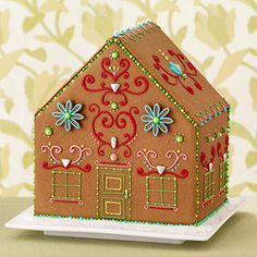 Easy Gingerbread House How-tos · Edible Crafts | CraftGossip.com