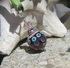 lampwork bauble pendant lisa new design by lisanew on etsy