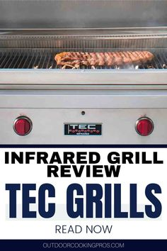 Discover the best infrared grills at Infrared TEC Grills Review by Outdoor Cooking Pros. Create your dream outdoor kitchen with the best infrared grills from TEC Grills. Learn more about the unique qualities of infrared that would surely improve your outdoor cooking experience. With these infrared grills, you can show off your best barbeque and steak recipes that are worth craving for. Visit us at outdoorcookingpros.com for more outdoor cooking tips and ideas. Infrared Grills, Cooking On The Grill, Cooking Tips, Outdoor Countertop, Bbq Pro, Sports Grill, Patio Grill, Juicy Steak
