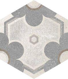 Hexágono Yerevan 23x26,6cm. | Floor Tiles Porcelain | Encaustic cement tile   | VIVES Azulejos y Gres S.A.