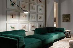 bacon sofa, meridiani - design ANDREA PARISIO
