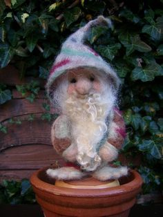 little felt gnome