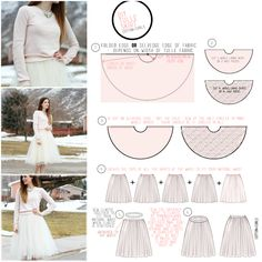 VERY SIMPLE TULLE SKIRT TUTORIAL by Cotton and Curls