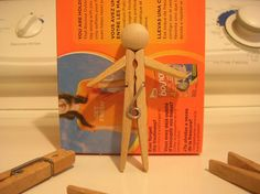 #34 Clothespin Doll Evolution | 365 Clothespin Dolls