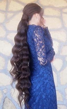 Long Hair Ponytail, Ponytail Hairstyles, Long Indian Hair, Beautiful Long Hair, Layered Cuts, Indian Hairstyles, Female Images, Curls, Magic