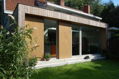 Bio-ecological reconversion of a house in Schoten (BE) -- TRAJEKT architectengroep bvba