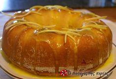 Brownie Cupcakes, Cake Cookies, Cupcake Cakes, Greek Sweets, Greek Desserts, Lemon Recipes, Sweet Recipes, Greek Cake, Cooking Cake