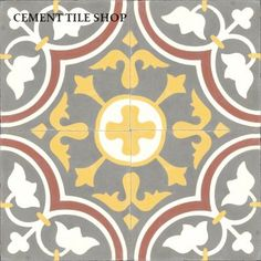 Cement Tile Shop | Roseton Red
