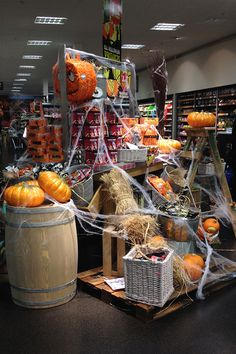 marks and spencer halloween 2013 vm props and equipment roll out for their food - Halloween Display Ideas