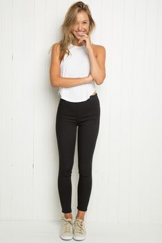 Brandy ♥ Melville | Bexley Pants - Bottoms - Clothing